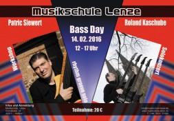 BASS DAY 2016 Musikschule Lenze